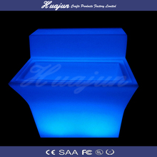 Sound and Touch Controlled Led lighted bar counter