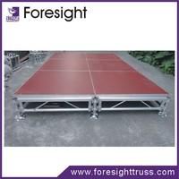 aluminum stage collapsable platform