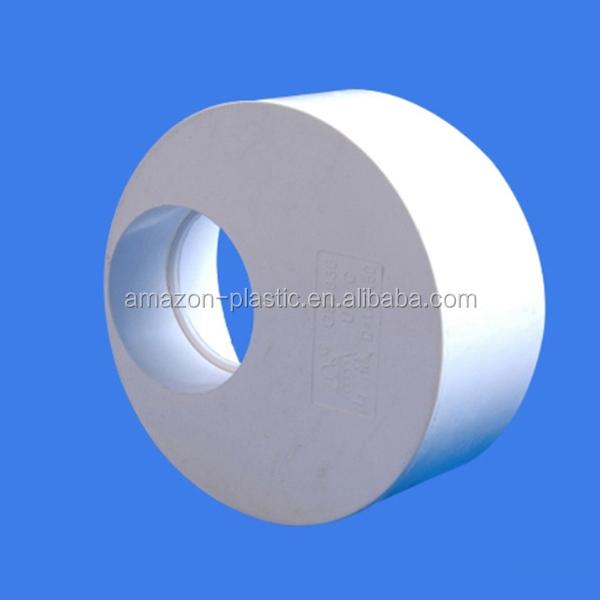 Mm flexible upvc large diameter plastic reducing bush