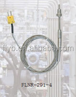 Resists Electrical Noise heat sensor with protection tube stainless steel