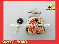 Brown Suggar Plum Halal Lollipop