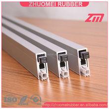 aluminium acoustic seal for door sealing system