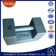 M1 class 10kg 20kg 500kg test weight for crane, 20kg cast iron weights, crane counter weight