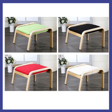 comfortable bent plywood footrest with rocking chair