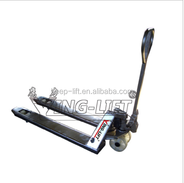 Stainless Steel Hand Jack : Stainless steel hand hydraulic pallet truck buy