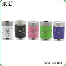 Bulk buy from china top selling products in alibaba for 2015 swirlfish atomizer swirlfish 510 atomizer swirlfish rda
