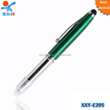 fancy stationery LED stylus screen touch pen
