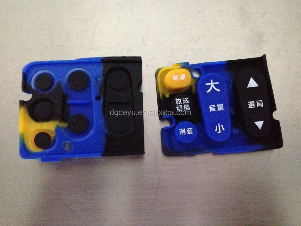 Factory Sale Rubber Silicon Parts, OEM Customized Silicon Product