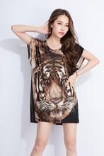 2015 new fashion short sleeve t-shirt with stone