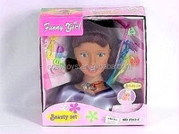 fashion doll diy hair half body big head black doll WW3608213