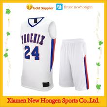 Top Quality Plain Basketball Wear ,Men Basketball Top For OEM