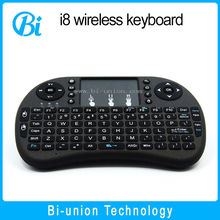 fly air mouse I8 Wireless Keyboard with Touchpad Remote 2.4G Mini Wireless Keyboard for Android
