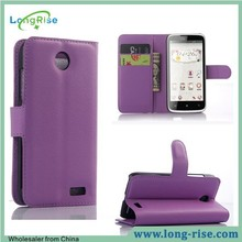 Cheap Price Wallet Flip Stand Case Cover for Lenovo A516 with Card Holder