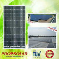 Propsolar price per watt solar panels in india TUV standard