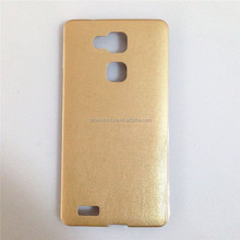 2015 Slim Ultra thin TPU+PU Leather Back Cover mobile phone Case For huawei ascend mate 7