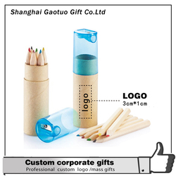 OEM hot sale natural color pencil,natural wood colored pencils/color pencil