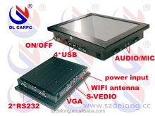Mini 10.4 inch Industrial PC Case , All In One Touch Panel PC