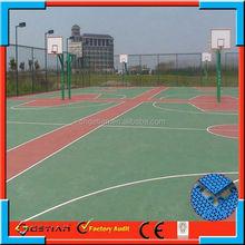 portable basketball court flooring price popular