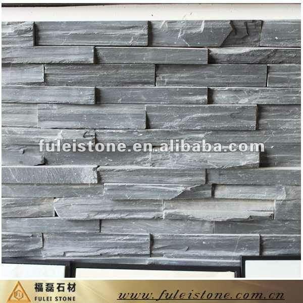 Landscaping With Slate Rock : Dark grey landscaping slate rock stone manufacturer