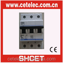 BTICINO DX-63 A Grade electical miniature circuit breaker sell well in South America
