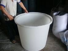 500L LLDPE used plastic drums/water containers for sale