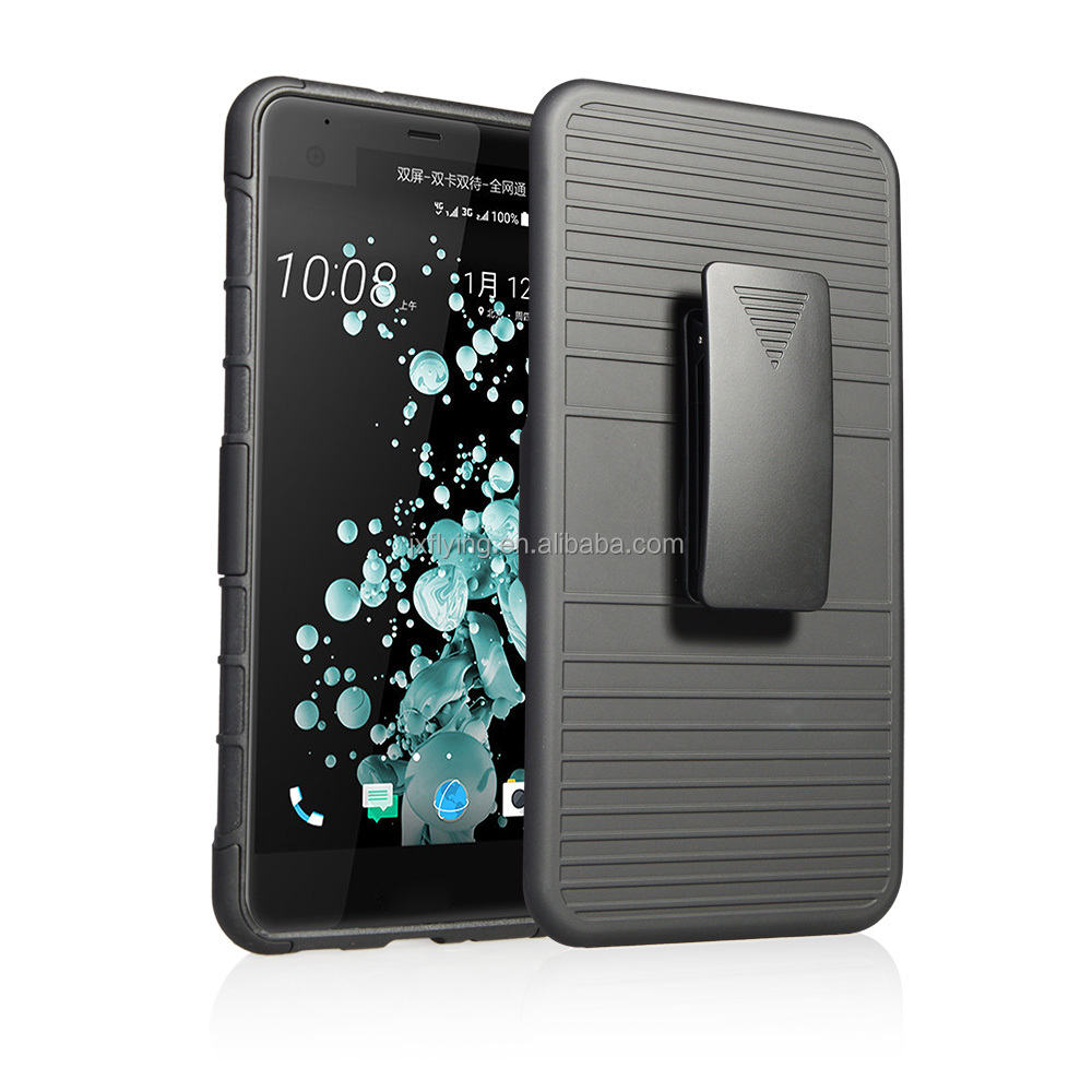 Plástico clip de cinturón teléfono celular cubierta caso para <span class=keywords><strong>HTC</strong></span> <span class=keywords><strong>u</strong></span> <span class=keywords><strong>ultra</strong></span> ZF100