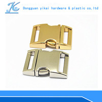 Excellent quality adjustable buckle clip,metal strap bag clip buckle,metal buckles for straps