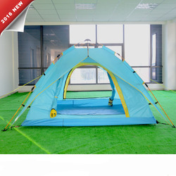 New Type Quick Automatic Opening 3-4 Person Tent Camping Framed Double Layer Casual Outdoor Tent