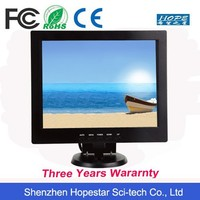 """Low cost 10 """" inch LCD monitor with USB Audio input"""