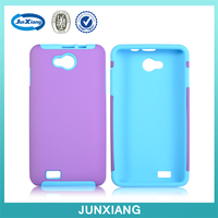 shockproof 2 layers pc silicon hybrid combo back cover case for BLU AVVIO 779