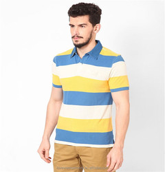 quick dry color combination polo shirts wholesale China