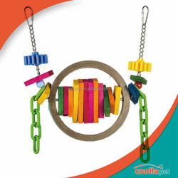 Ayc Coollapet Bangle Busy Beak bird toys