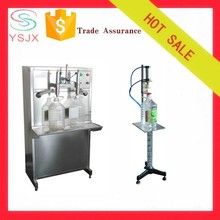 Double heads sunflower oil filling machine for sale
