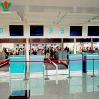 Modern office marble reception counter design for airport