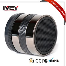 Cylindrical Mini Bluetooth Wireless Speaker with usb port For Iphone Tablet PC