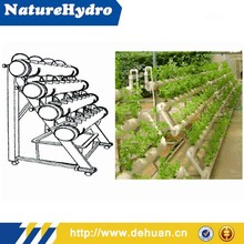 Oval PVC Pipe Water Duct Hydroponics Plant Oval PVC Pipe Hydroponics Systems