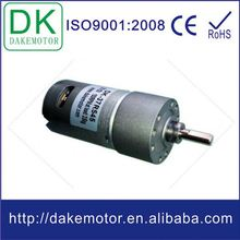 37mm 12V 24V DC 12v dc high torque mini electric gear box motor