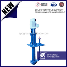 solids control Industry vertical submersible slurry pump in feeding decanter centrifuge
