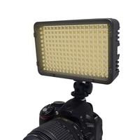 Mcoplus 322 Bi-Color LED On-camera Video Light for Canon/Nikon/Pentax/Panasonic/SONY/Samsung/Olympus Digital SLR Cameras