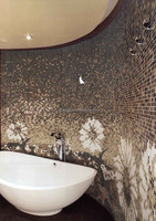 shell mosaic tiles mosaic crystal glass mosaic tile