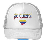 Venezuela embroidered checked snapback flag hat
