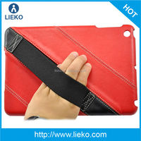 New design l fashion hand hold PC with leather case for Ipad mini 2