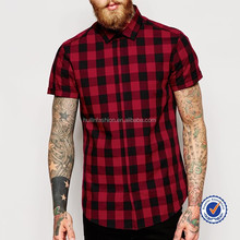 new arrival casual wear for men short sleeve casual shirt for men