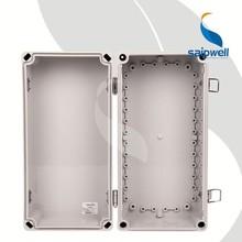 Saipwell 380x190x180mm enclosure box small abs pcb enclosure with hinge (SP-02-381918)