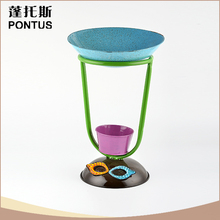 Professional metal flower pots stage decoration for festival