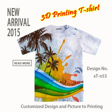 High Quality custom t-shirt printing/blank t shirt/design your own t shirt from China reliable garment factory trade assurance