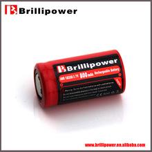 Brillipower 800mah battery pack 3.7v 800mah li-polymer battery