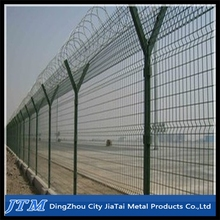 2015 Hot sale!!!Y post fence,/razor barbed wire fence/airport fence