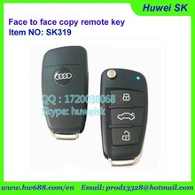 433.92MHz remote key with high quanlity, fixed code remote key face to face copy remote key