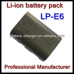 Hot Sales Digital Battery LP-E6 For Canon 5D mark III 5D Mark II 7D 60D 6D Camera